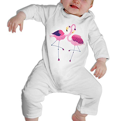 Tablecloth Pool Triangles (Cute Pink Flamingos Illustration Long Sleeves Bodysuit Infant Onesie Triangle)