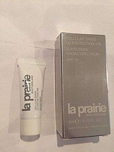 Sun Prairie La Protection (La Prairie Cellular SWISS UV Protection Veil 0.17 oz 5Ml SPF 50 Travel Sunscreen)