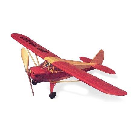 Free Balsa Airplane Plans - Piper Cub Coup,17.5