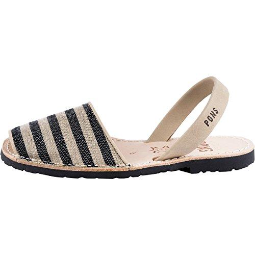 ポンズアバカス レディース サンダル Classic Textile Sandal [並行輸入品]