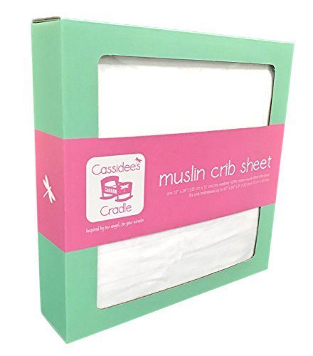 Cassidees Cradle Muslin Cotton Sheet product image