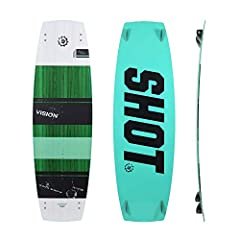 See the future with the all NEW 2020 Vision! We have completely rebuilt and redesigned the Vision with a new focus in mind. We wanted to create the highest performance twin tip for the modern era of kiteboarding. It is an aggressive freeride ...