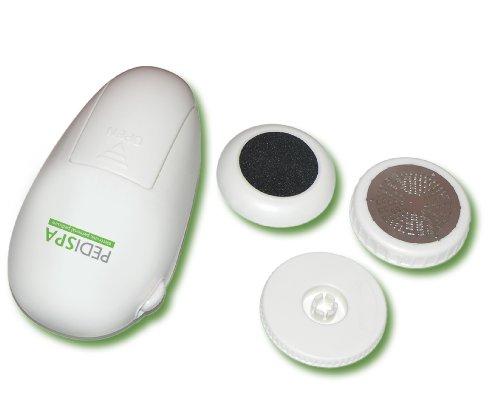 """Viatek PS01G Pedi-Spa Battery Operated, crème, 5 """"x 3"""" x 2,5 """", pédicure électronique personnelle"""