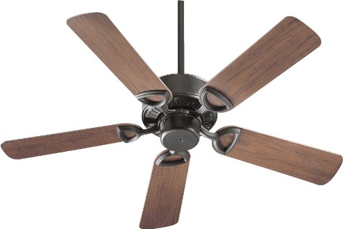 Quorum International 143425-95 Estate Patio Ceiling Fan with Walnut ABS Blades, 42-Inch, Old World Finish (Quorum Patio Estate)