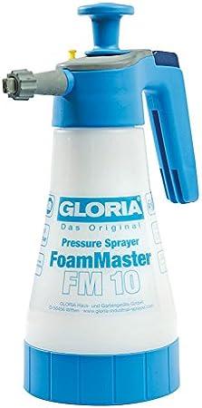 Gloria FoamMaster FM 10 pulverizador de presión para la aplicación de Espuma limpiadora, Blanco