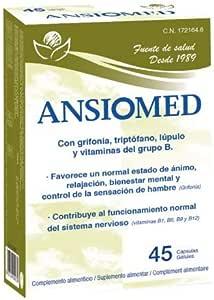 Ansiomed 45 cápsulas: Amazon.es: Salud y cuidado personal