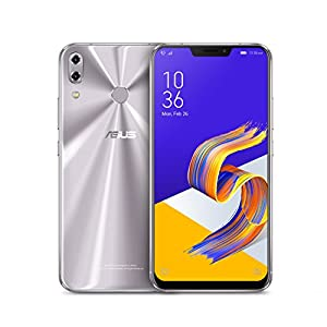 "ASUS ZenFone 5Z (ZS620KL-S845-6G64G) – 6.2"" FHD+ 2160×1080 display – 6GB RAM – 64GB storage – LTE Unlocked Dual SIM Cell Phone – US Warranty – Meteor Silver"