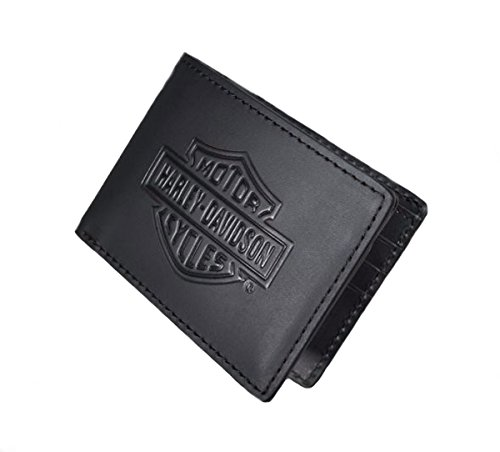 Harley Davidson Shield Leather Wallet 99463 06V