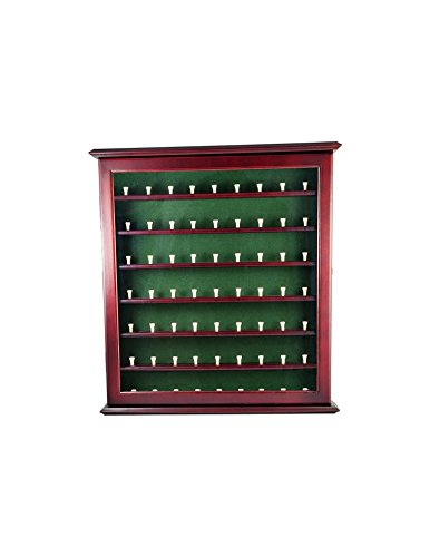 Clubhouse Collection Executive Ball Cabinet, - Ball Case Display Golf Glass