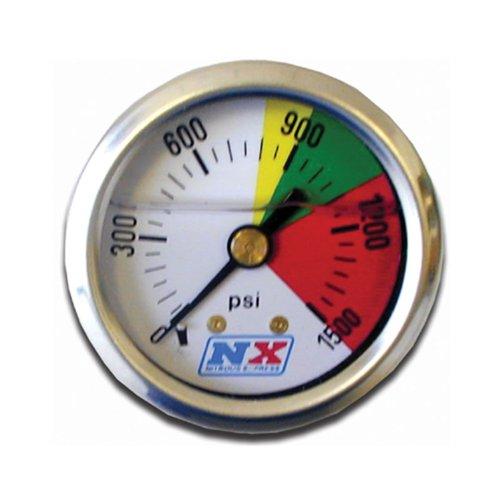 Nitrous Express 15508 0-1500 psi Nitrous Pressure Gauge