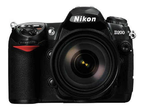 Nikon D200 10.2MP Digital SLR Camera with 18-70mm AF-S DX f/3.5-4.5G IF-ED Nikkor Zoom Lens