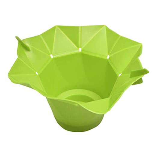 boneshieldt Cubo de Palomitas de maíz Plegable para microondas ...