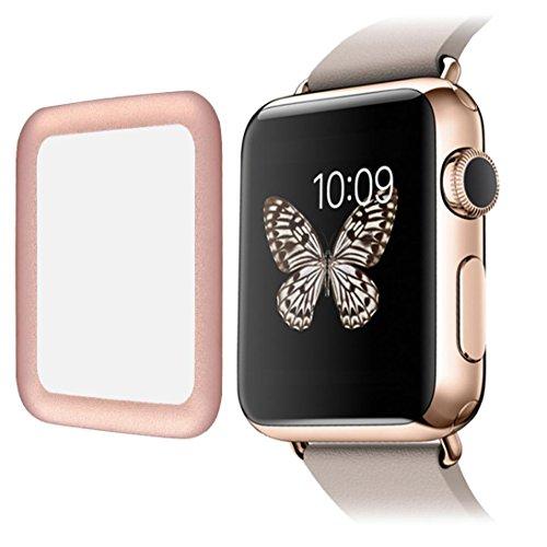 Aluminum Alloy Back Case for Apple Watch 42mm (Black) - 9