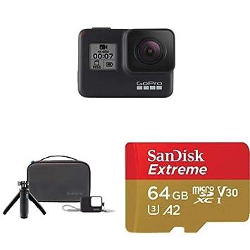 Amazon.com: GoPro HERO7 Negro + Kit de viaje + (1) Tarjeta ...