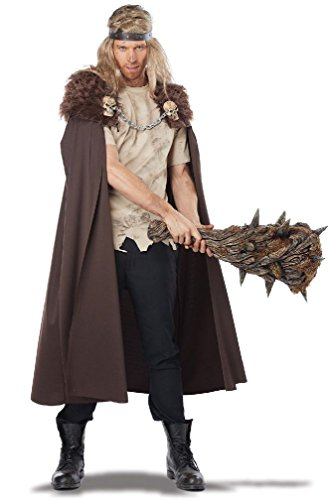 [8eighteen Medieval Warlord Adult Renaissance Nights Watch Cape Adult Costume] (Man Of The Nights Watch Costume)