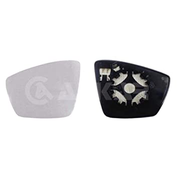 Heated /& Holder Left Passenger Side Wing Mirror Glass