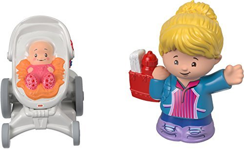 Fisher-Price Little People Mom & Baby Figures