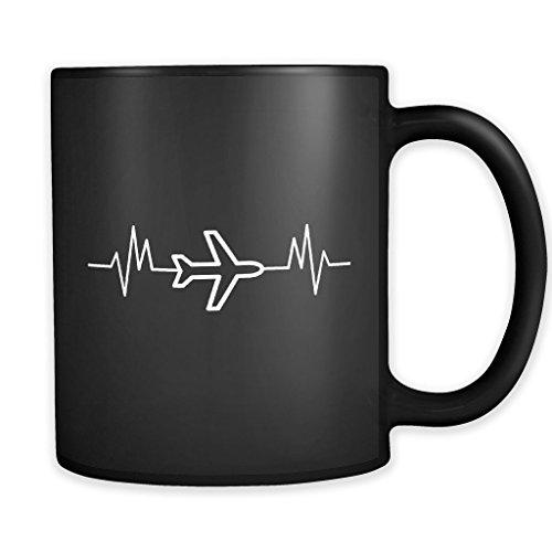 Pilot Coffee Mug, Pilot Mug, Pilot Gift, Airline Gift, Airline Captain Gift, Airline Mug, Airplane Mug, Plane Mug #a377 ()