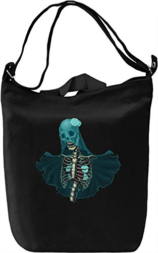Skeleton torso Borsa Giornaliera Canvas Canvas Day Bag| 100% Premium Cotton Canvas| DTG Printing|