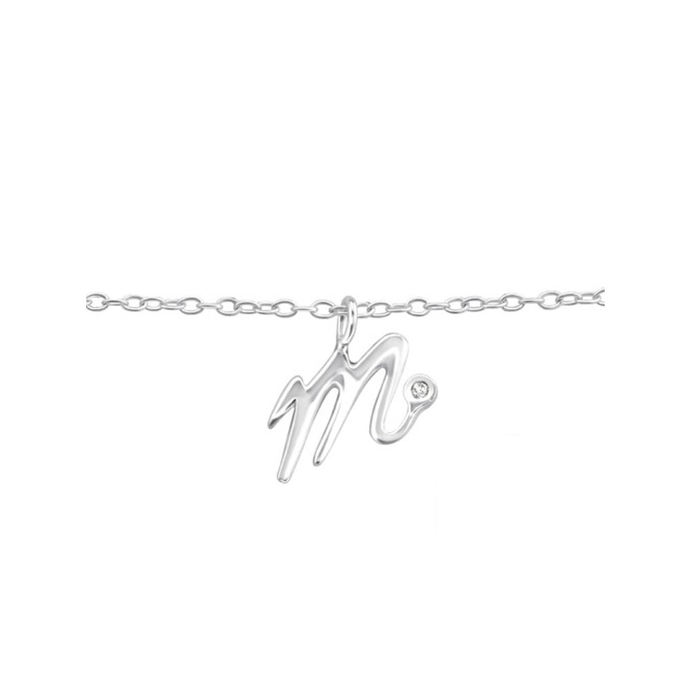 Worldjewelry 925 Sterling Silver m Silver Anklets