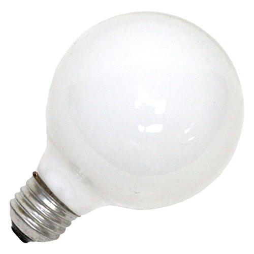 25-Watt Globe Light Bulb with Medium Base (Incandescent Sylvania Globe)