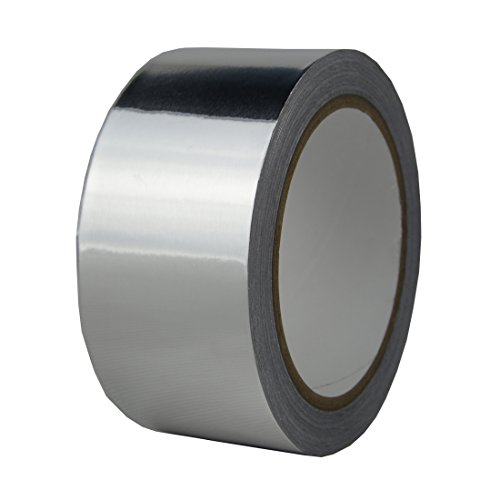 Hxtape 4 Mil (2 inch-66ft) Aluminum Foil Tape,Silver,Good for HVAC, Sealing & Patching Hot & Cold Air Ducts, Metal Repair