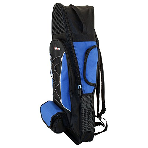 (PROMATE Backpack Style Bag For Mask, Snorkel, & Fins Scuba Diving Gear Snorkeling Surfing Travel Overnight Back Pack Bag)