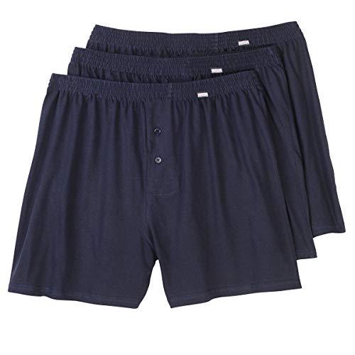 Hommes Adamo Bleu Caleçons Lot Taille Fashion 3 Grande De r87wXqU8