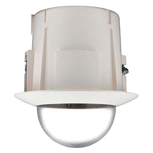SS123 - SAMSUNG SHP-3700F INTERNAL FLUSH MOUNT FOR PTZ DOME CCTV CAMERA HOUSING IN IVORY
