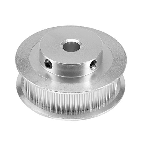 uxcell GT2 Pulley 60 Teeth 8mm Bore Timing Belt Pulley Wheel Aluminum for 6mm Belt 3D Printer CNC