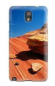 Hot MxBcbYC1926eHCqI Case Cover Protector ForHTC One M7- Hot Rocks Red Valley Nature Other