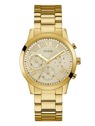 GUESS Women's Quartz Stainless Steel Casual Watch, Color:Gold-Toned (Model: U1070L2) by GUESS
