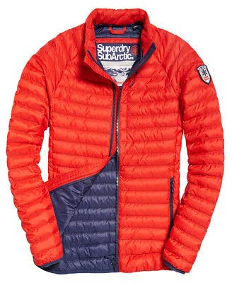 e1b8ab493cc3fb Superdry New RRP£94.99 2XL Size Mens Core Down Winter Jacket Red Coat:  Amazon.co.uk: Clothing