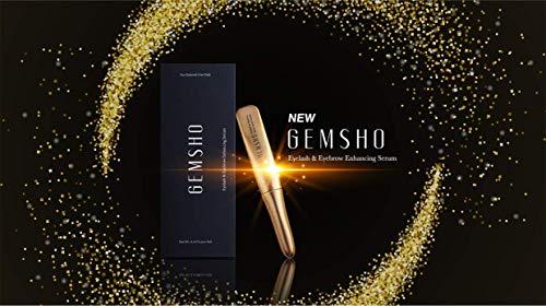 New Gemsho Eyelash & Eyebrow Enhancing Serum 3ml / 0.10fl. oz makes eyelashes and eyebrows look stringer, fuller, thicker, and healthier. U.S.A Seller