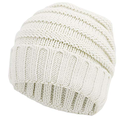 Simplicity Men/Women's Chunky Soft Knitted Warm...