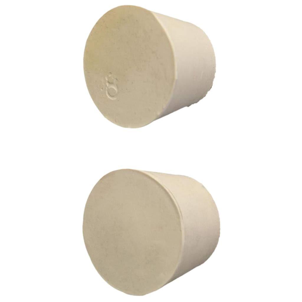 Sharplace 10pcs Bouchons De Tube Coniques En Caoutchouc Solide