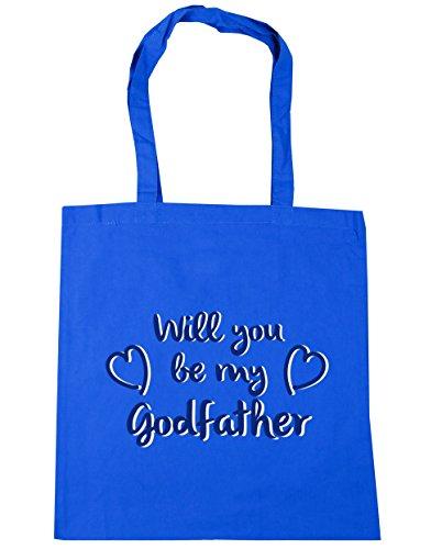 HippoWarehouse - Bolsa de playa de algodón  Mujer, azul (Azul) - 13489-TOTE-cornflower blue