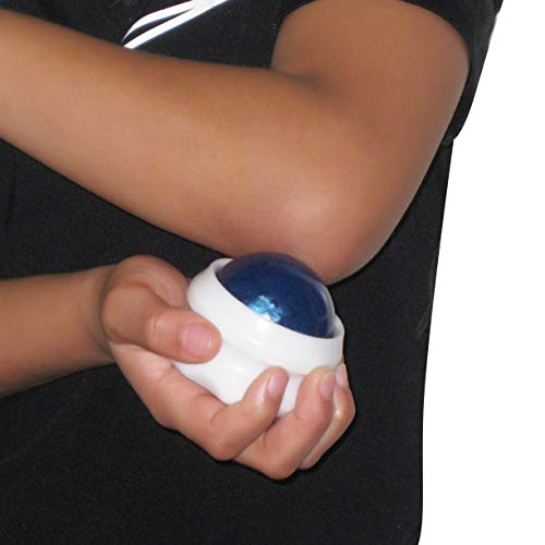 (Elbow Massager - Sore Elbow Manual Massage Tool - Fast, Soothing Pain Relief for Elbow Joints - Treatment Therapy for Tendonitis, Bursitis, Arthritis, and Tennis Elbow - Set of 2)