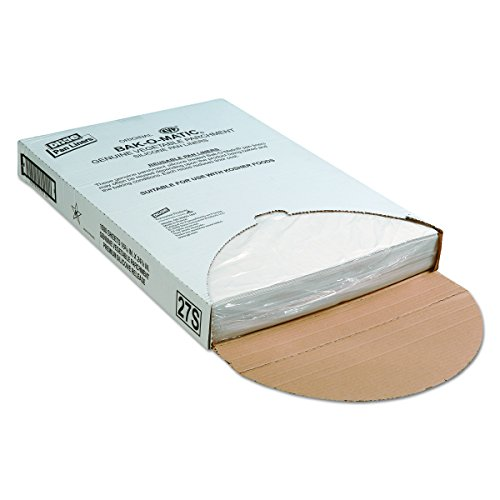 Dixie 27S Yellow-Label Parchment Pan Liner, 16.38'' Length x 24.38'' Width, White (Case of 1,000) by Georgia-Pacific