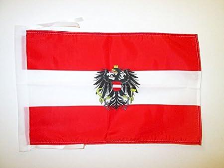 AZ FLAG Bandera de Austria con Aguila 45x30cm - BANDERINA ...