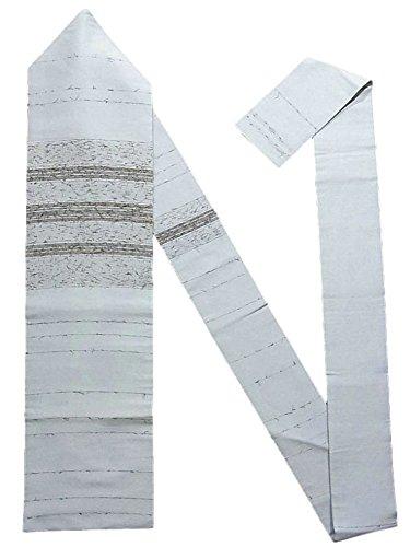 水平数値範囲リサイクル 名古屋帯 髭紬 縞模様 正絹