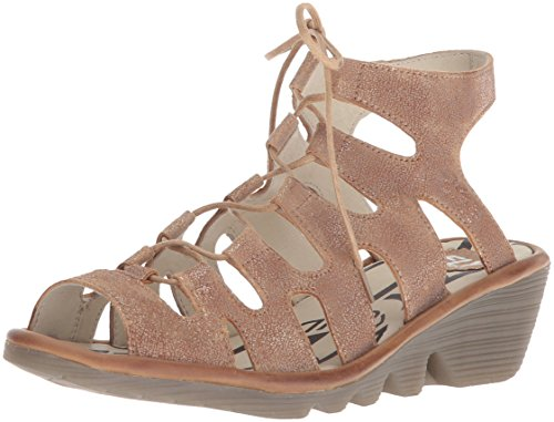 Fly London Women Port813fly Sandaal Luna / Camel Cool / Tapijt