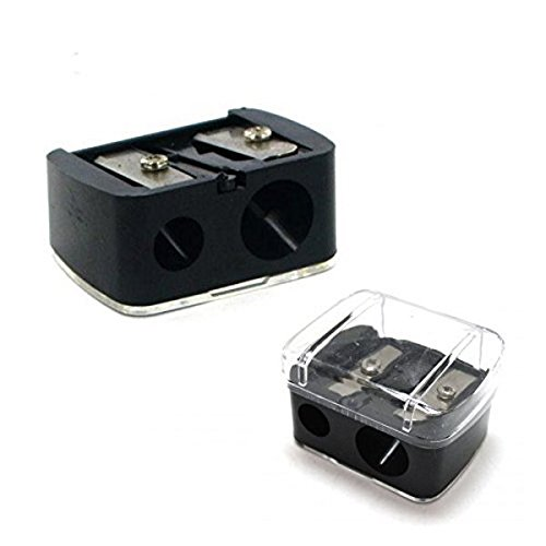 Body Collection Double Make-Up Pencil Sharpener Black