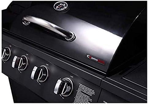 CosmoGrill Barbecue à gaz série 4+1 avec brûleur latéral et stockage (4+1)