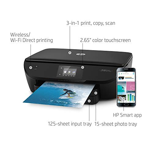 HP Envy 5642 Wireless All in One Photo Printer with Mobile Printing, Instant Ink Ready (B9S61A)