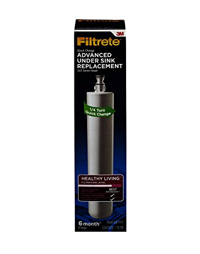 Filtrete Advanced Under Sink Quick Change Water Filtration