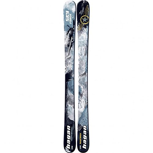 Hagan Ski Mountaineering Skyforce JR Youth Alpine Touring Ski, 125cm by Hagan Ski Mountaineering