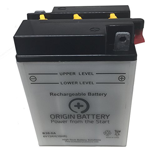 BMW R60/2 Twin Cylinders Battery, Also Fits R50/S, R60, and R69 - Cylinder Origin
