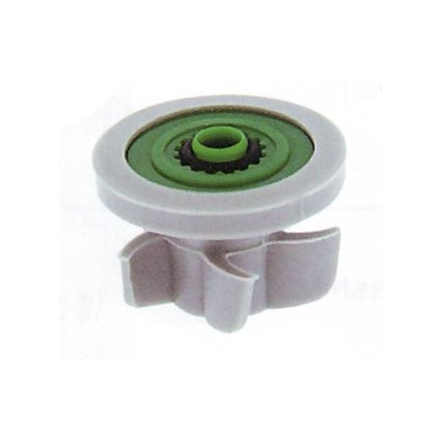 Flow Regulator Rate (Neoperl 13 1310 5 PCW-02 Shower Regulator, PCA Shower Flow Washer, 1.5 GPM Maximum Flow Rate, Silicone Adapter, Green Color, Fits into any 1/2