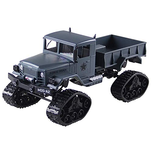 FY001B 1/16 2.4G 4WD RC Car Brushed Off-Road Truck Snow Tires with Front Light RTR